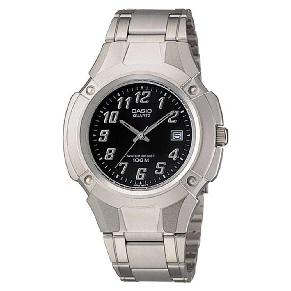 Casio Men's MTP-3036A-1AV 'Quartz' Stainless Steel Watch ...
