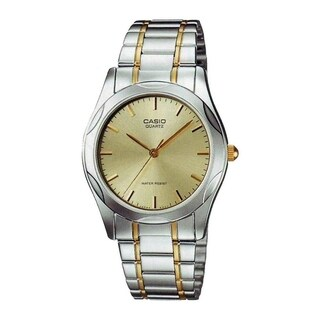 Casio Men's MTP-1275SG-9A 'Quartz' Two-Tone Stainless Steel Watch - Gold-tone