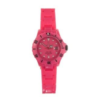 Toy Watch Women's FL04PS Pink Plastic Watch - oink