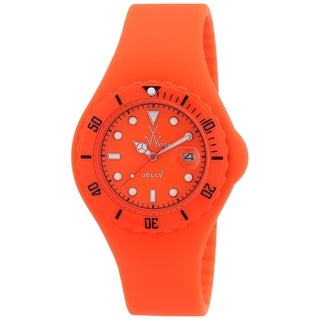 Toy Watch Unisex JY03OR 'Jelly' Orange Silicone Watch