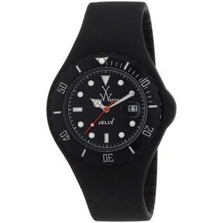 Toy Watch Men's JY02BK 'Jelly' Black Silicone Watch
