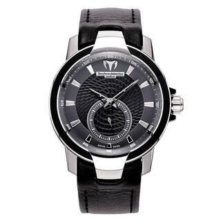 TechnoMarine Women's 609021 'UF6' Black Leather Watch|https://ak1.ostkcdn.com/images/products/18753707/P24826026.jpg?impolicy=medium