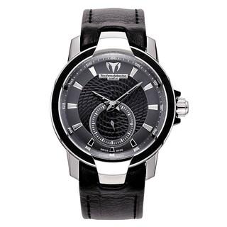 TechnoMarine Women's 609021 'UF6' Black Leather Watch