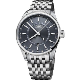 Oris Men's 76176914085MB 'Artix Tycho Brahe' Automatic Stainless Steel Watch - Blue