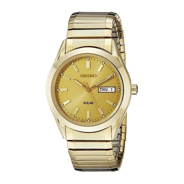 Seiko Men's 'Dress' Seiko Stainless Steel Watch - Gold-tone