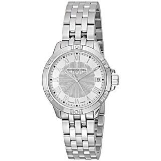 Raymond Weil Women's 5960-ST-00658 'Tango' Stainless Steel Watch - Silver