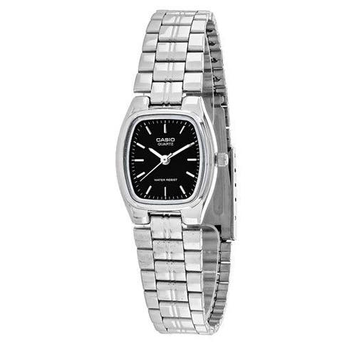 Casio Women's LTP-1169D-1A 'Classic' Stainless Steel Watch - Black
