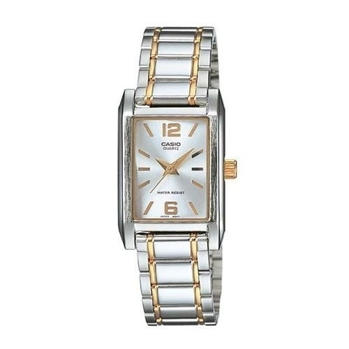 Casio Women's 'Classic' Two-Tone Stainless Steel Watch - silver