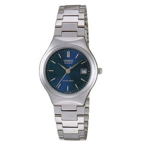 Casio Women's LTP-1170A-2A 'Classic' Stainless Steel Watch - BLue