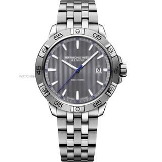 Raymond Weil Men's 8160-ST2-60001 'Tango' Stainless Steel Watch - grey