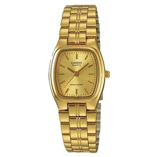 Casio Women's 'Classic' Gold-Tone Stainless Steel Watch