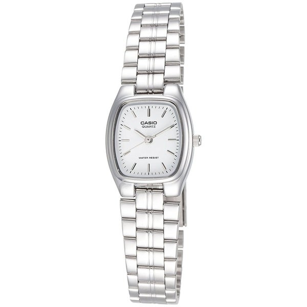 61b928ad199a39 Shop Casio Women's LTP-1169D-7A Stainless Steel Watch - silver ...