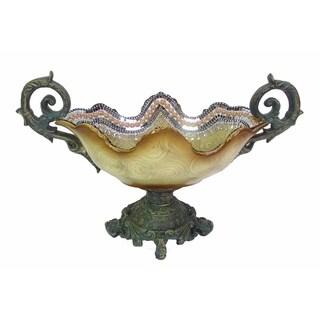 D'Lusso Designs 19 Inch Beige Centerpiece