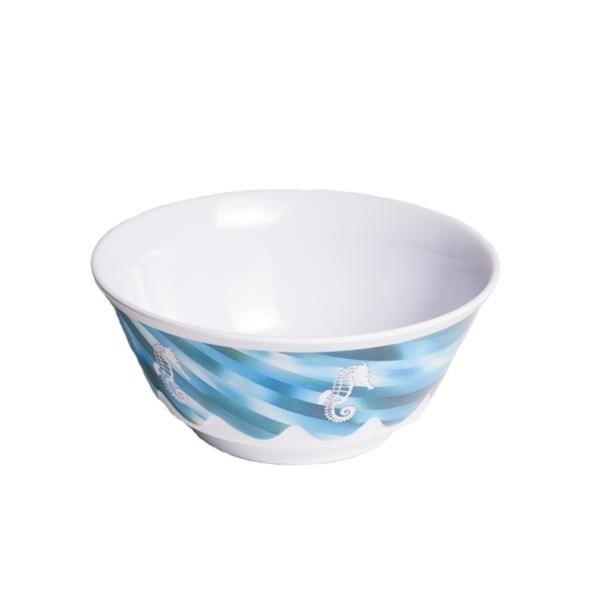 Galleyware 20 oz. Fantasea Melamine Non-Skid Soup/Cereal Bowl (Set of 6)