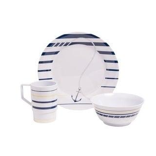 Galleyware Newport Melamine 12 Piece Dinnerware Set