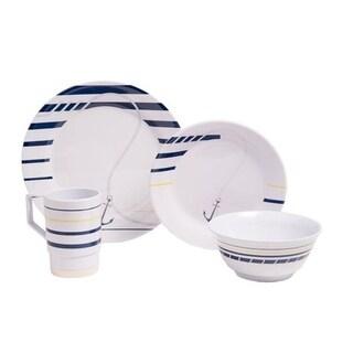 Galleyware Newport Melamine 24-piece Dinnerware Set
