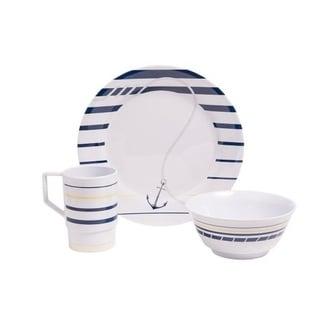 Galleyware Newport Melamine 18 Piece Dinnerware Set