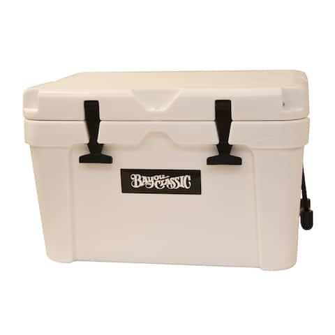Bayou Classic® 25-qt Bayou® Roto-molded Cooler - White