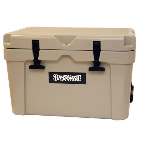 Bayou Classic® 25-qt Bayou® Roto-molded Cooler, Tan