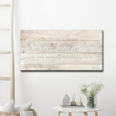 Olivia Rose 'Ama' Inspirational Textual Canvas Art