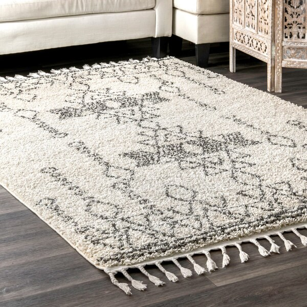 NuLoom Contemporary Soft And Plush Moroccan Tribal Shag