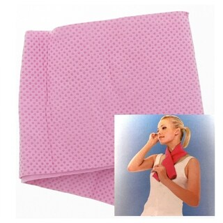 Eco-Friendly Reusable Instant Relief Cooling Towel - Pink