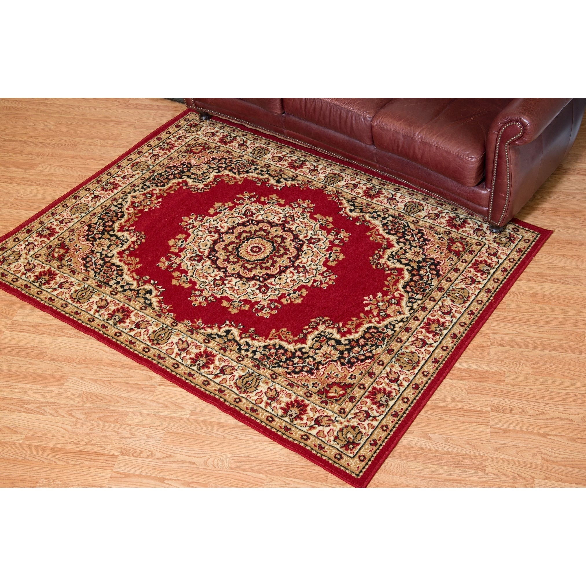 Westfield Home Montclaire Traditional Oriental Red Area Rug - 710 x 106