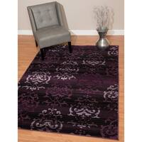 "Westfield Home Montclaire Germaine Plum Area Rug - 7'10"" x 10'6"""