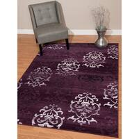 """Westfield Home Montclaire Germaine Lilac Area Rug - 7'10"""" x 10'6"""""""