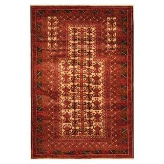 Handmade Balouchi Wool Rug (Afghanistan) - 3' x 4'8
