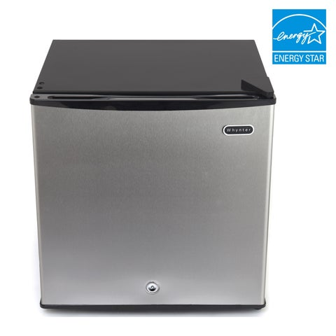 CUF-112SS Whynter 1.1 cu. ft. Energy Star Upright Freezer with Lock - Stainless Steel