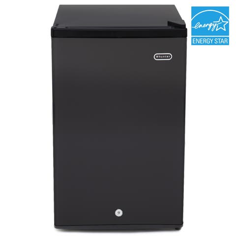 CUF-301BK Whynter 3.0 cu. ft. Energy Star Upright Freezer with Lock - Black