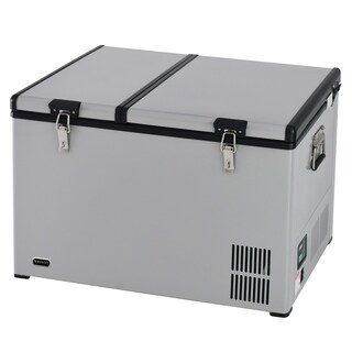 FM-901DZ Whynter 90 Quart Dual Zone Portable Fridge/Freezer with 12V Option and Wheels