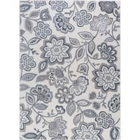 Alise Rugs Carrington Transitional Floral Area Rug - 7'6 x 9'10
