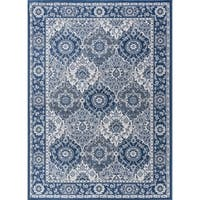 Alise Rugs Carrington Traditional Oriental Area Rug (7'6 x 9'10)