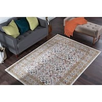 Alise Rugs Montez Traditional Oriental Area Rug - 7'10 x 10'3