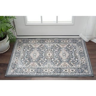 Alise Rugs Carrington Traditional Oriental Scatter Rug (2' x 3') - 2' x 3'