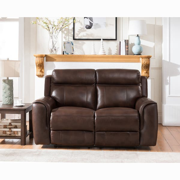 Phenomenal Shop Taft Brown Top Grain Leather Power Reclining Sofa Onthecornerstone Fun Painted Chair Ideas Images Onthecornerstoneorg