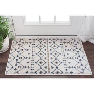 Alise Rugs Carrington Transitional Geometric Scatter Rug (2' x 3') - 2' x 3'