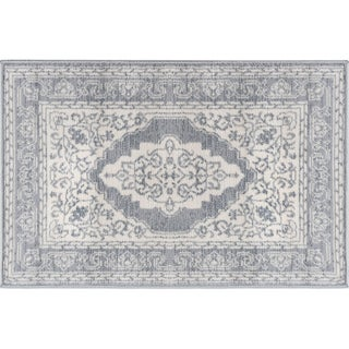 Alise Rugs Carrington Traditional Oriental Scatter Mat Rug - 2' x 3'