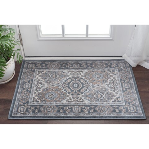 Alise Rugs Carrington Traditional Oriental Scatter Mat Rug