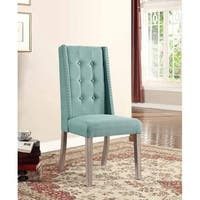 Best Master Furniture Laguna Fabric Side Chairs (Set of 2)