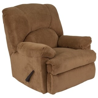 Flash Furniture Brown Microfiber Rocker Recliner
