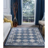 Alise Rugs Carrington Traditional Oriental Area Rug - 9'3 x 12'6