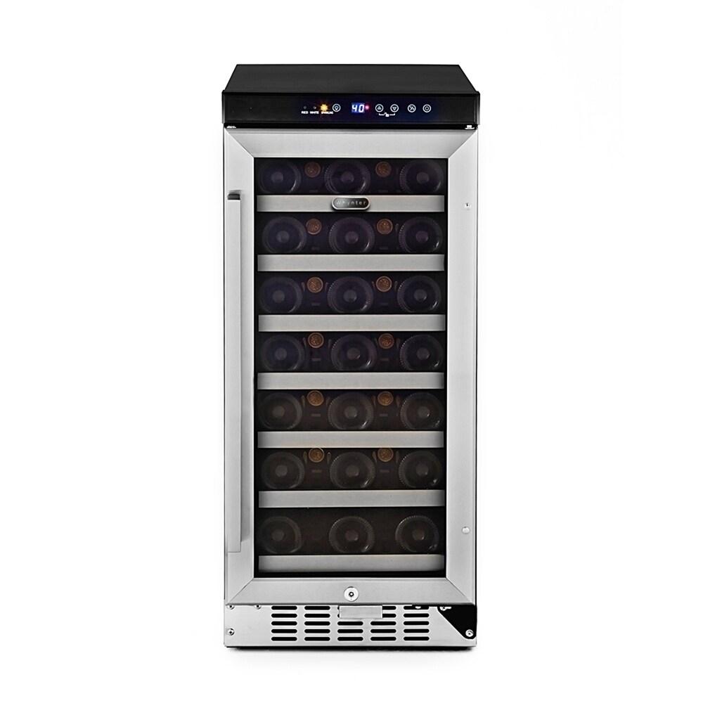 Whynter 33 Bottle Compressor Built-In Wine Refrigerator, ...
