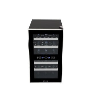 Whynter 18 Bottle Dual Zone Thermoelectric Wine Cooler