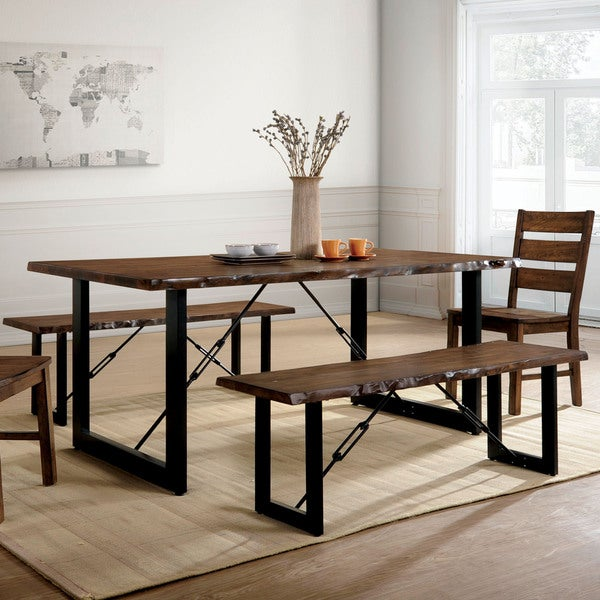 Dinning Room Tables For Sale: Shop Furniture Of America Terele Industrial Walnut 70-inch