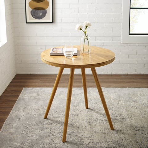 Corvus Lille Mid-Century Modern Bamboo Dining Table