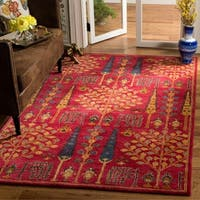 Safavieh Handmade Heritage Red/ Multi Wool Rug - 5' x 8'