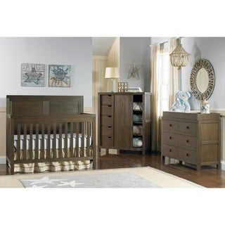 Ti Amo Castello 4-in-1 Convertible Crib Weathered Brown